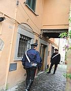 La casa di Formello in cui il figlio 60enne ha ucciso la madre (Proto)