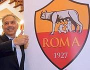 James Pallotta presenta il nuovo logo della Roma