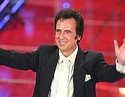 Little Tony a Sanremo nel 2010 (Ansa)