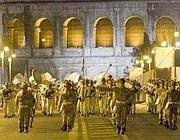 Le prove della parata giovedì notte (Jpeg)