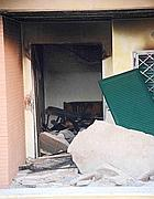 La palazzina esplosa a Nettuno (Faraglia)