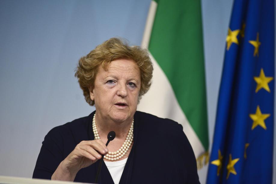 Il Ministro Anna Maria Cancellieri