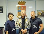 Il trafficante arrestato dalla Polaria (Proto)