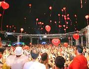 La discoteca del Gay Village nell'edizione 2012