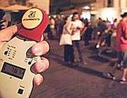 La misurazione dei decibel (foto Proto)