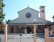 La chiesa di San Filippo Neri sulla Cassia