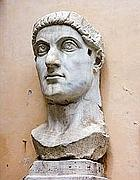 La statua di Costantino ai Musei Capitolini