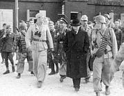 Mussolini con i tedeschi sul Gran Sasso