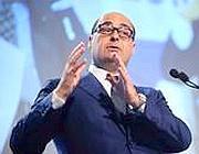 Luca Zingaretti, presidente della regione Lazio