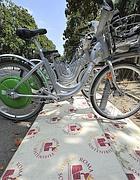 Le bici a pedalata assistita di Villa Borghese (Jpeg)