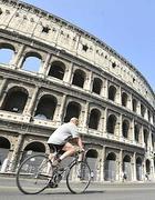 In bicicletta al Colosseo