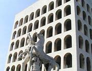 Il Colosseo quadrato all'Eur