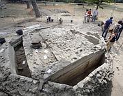 Il mausoleo e i sepolcri che accoglievano alcuni bambini