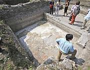 La Domus romana rinvenuta dagli archeologi