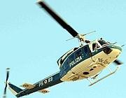 Anche un elicottero nell'operazione (Faraglia)