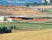 La zona dello scavo archeologico (Altimari)