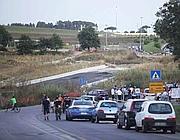 La protesta sull'Ardeatina (Foto Jpeg)