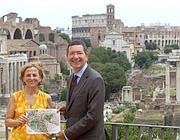 L'assessore Barca e il sindaco Marino presentano il progetto (Jpeg)