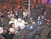 Gli scontri  ai Fori sabato 3 agosto  (Jpeg)