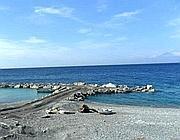 Motta San Giovanni, il mare nei pressi della foce della Fiumara