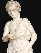 La statua di San Giovannino attribuita a Michelangelo