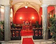 La Sala rossa dedicata ai matrimoni in Campidoglio
