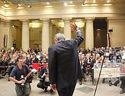 La sede delle riunioni plenarie della CdC a Roma, nel Tempio di Adriano