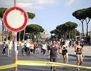 Fori pedonalizzati e in festa anche domenica da piazza Venezia al Colosseo