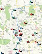 Guarda la mappa dei topi avvistati nella Capitale