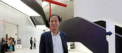 Il nuovo direttore artistico del Maxxi Hou Hanru (Fotogramma)