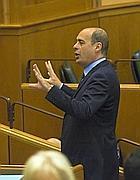 Zingaretti al consiglio regionale (Jpeg)