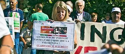 La protesta contro Falcognana (Jpeg)