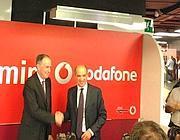 Il presidente di Vodafone e l'Ad di Atac inaugurano la stazione sponsorizzata (Zanini)