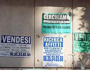Cartelli di affittasi a Roma