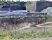 Gli scavi per il terzo invaso di Falcognana: per il consiglio regionale, non potranno essere ampliati i confini del sito (Jpeg)