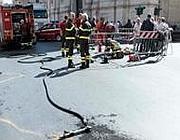 Un incendio ai cavi dell'Acea in corso Vittorio Emanuele è stato all'origine del blackout telefonico durato 4 giorni