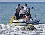 Sopralluogo in mare davanti al soffione di gas (Jepg)
