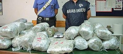 Marijuana sequestrata dai carabinieri poco tempo fa: era destinata al rifornimento dei pusher del Pigneto e di San Lorenzo (Proto)