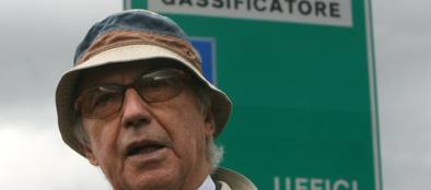 Manlio Cerroni (foto Ansa)
