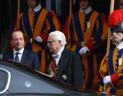 Il presidente Hollande, In Vaticano venerd� 24 (Afp)