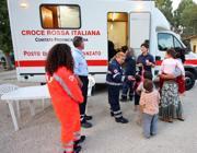 Un'unità mobile della Croce Rossa (Jpeg)