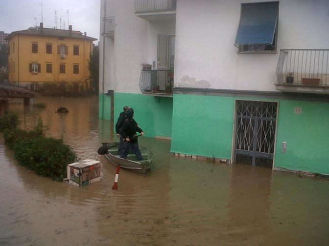 Roma sott acqua for Case roma nord
