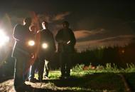Ronde  di cittadini a Ponte  di Nona �vigiliamo sul pericolo del campo rom�
