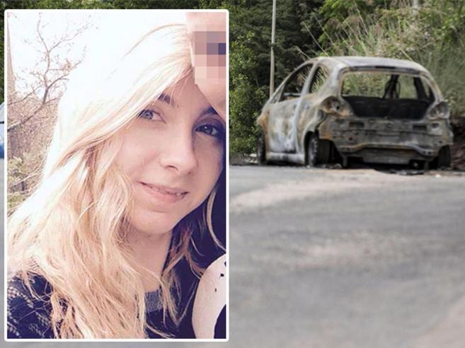 Sara, data alle fiamme e strangolata Indagato l'ex fidanzato, un vigilante