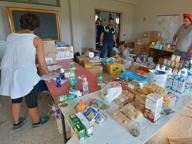 Terremoto, i beni per gli sfollati dai municipi in un deposito nelle Marche