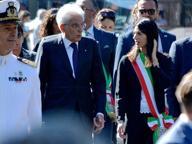 8 settembre, il colloquio tra Mattarella e Raggi alla cerimonia di Porta San Paolo