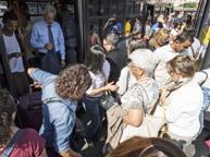 Guasti ai bus, blitz dell'assessore Meleo al deposito Atac di Portonaccio