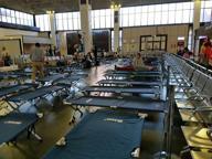 Fiumicino, il terminal 2 trasformato in tendopoli causa maltempo