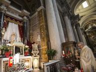 Padre Pio, fedeli romani in festa con processione e reliquie fino al 23