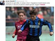 #Totti40, sui social gli auguri al capitano della Roma